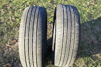 1 Pair Continental tires, OEM Jeep, Used Carroll County, MD, USA