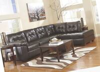 New leather sectional! Other couch and love seat saves here 463 mi