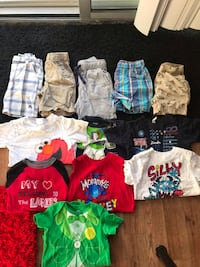 Boys 24 months Shorts and T-Shirts