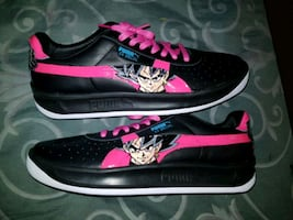 DBS Goku Black Glow in dark custom PUMAS