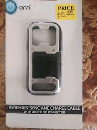KEYCHAIN SYNC & CHARGE CABLE 2245 mi