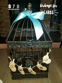 Wedding Bird Cage for Cards