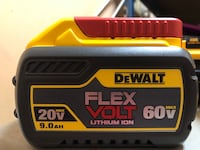 Dewalt 20/60 9ah battery  Langley, V3A 3Y7