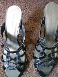Black low heel or average. Never worn. Size 81/2 Rochester, 14610