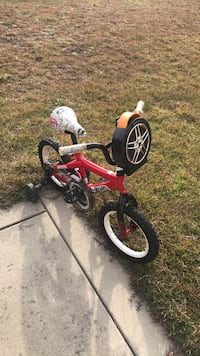 Toddler's red and black bicycle Raeford, 28376