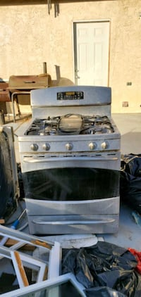GE profile gas stove and oven