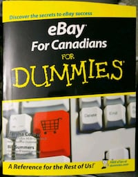Book: eBay for Canadians for dummies Montreal, H4L 3M8