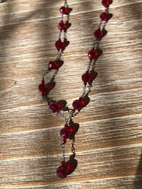 Red crystal necklace Ashburn, 20147