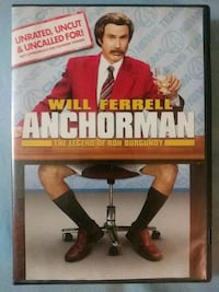 Anchorman dvd Glen Burnie