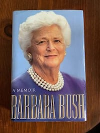 "Barbara Bush ""A Memoir"" 1994 Hardcover Facsimile Signed Edition Baltimore, 21205"