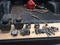 Harley Davidson assorted twin cams parts