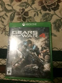 Gears of War 4 Xbox One game case 862 mi
