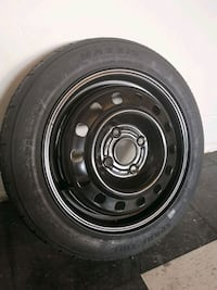 2010 Ford Focus Spare Temporary Tire