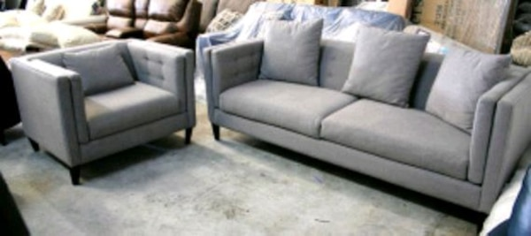 Braylei 2pc contemporary sofa set