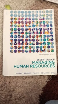 Essentials of managing Human Resources  Calgary, T1Y 1R5