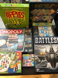 7 games- all are almost new Arlington, 22202