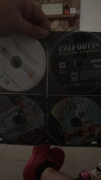two Sony PS3 game discs Tampa, 33624