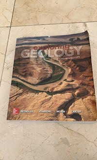 Book.   Geology text book  Title: exploring Geology,  Beverly Hills, 90210