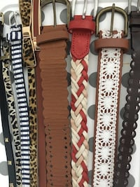 Lot of belts size small like new Mississauga, L5B