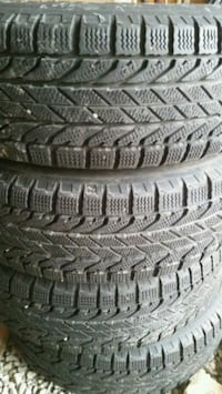 gray auto tire with tire Mississauga, L4T 1H5