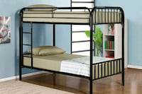 Full over full bunk bed divisible to 2 full beds ( Sacramento, 95838