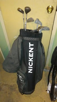 Nickent golf bag and assorted clubs  Lexington County, 29070