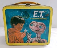 Vintage 1982 Metal ET Lunch Box Shanksville, 15560