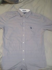 Polo gray button-up shirt Toronto, M1S 5W1