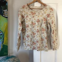 Urban Outfitters Floral Crew Neck Bethlehem