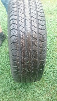 1 new 275-60-20 inch wheel and tire 5lug off of 2014 dodge truck