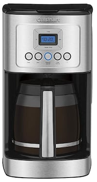 Cuisinart DCC-3200 14-Cup Glass Carafe with Stainless Steel Handle Programmable Coffeemaker, Silver Rockville, 20851