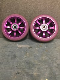 Pair of havoc 110 scooter wheels Saanich, V8Y 0A1
