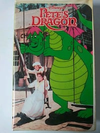 Petes Dragon vhs tape