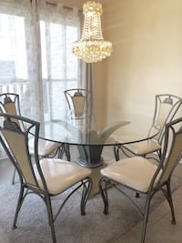 Palm Dining Table - 5 Chairs Alexandria, 22315
