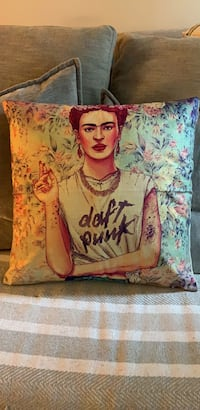 Frida Khalo 18x18 pillow