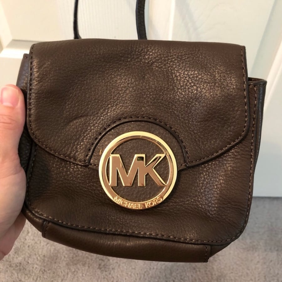 Michael Kors Brown Crossbody Bag