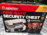SENTRY 1150 LARGE 518 CU IN CAPACITY FIRE SAFE SECURITY CHEST NEW IN BOX Oakland