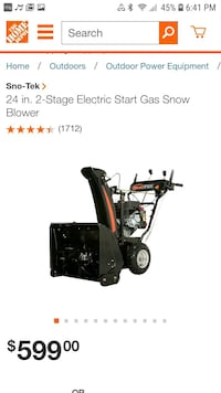 24 inches snowblower Wappingers Falls, 12590