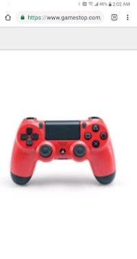Playstation 4 Dualshock 4 Controller Magma Red 523 mi