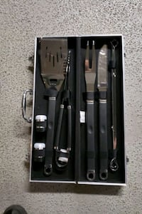 BARBEQUE TOOL IN A CASE