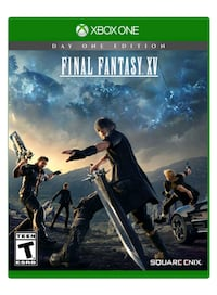 New sealed Final Fantasy Xv Xbox One Mississauga, L5A 3T2