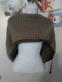 brown and beige chevron poncho Germantown, 20876