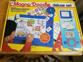 Magna doodle deluxe set