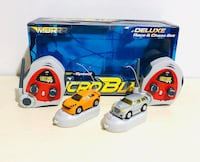 Rare R/C MBR Microblast Racers Deluxe Race and Chase Set Mint in box Milton, L9T 3Z3