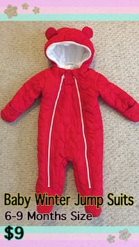 Baby Winter Jump Suits