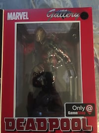 Deadpool statue GameStop exclusive Fairfax, 22030