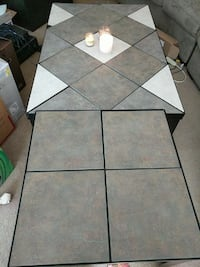 Tile coffee table and 2 end tables Chicago, 60659