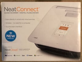 The Neat Company NeatConnect Scanner and Digital Filing System