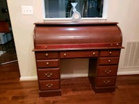 brown wooden roll-top desk Brandywine, 20613