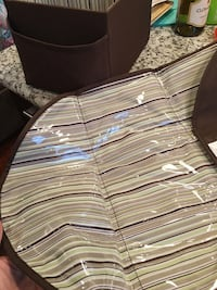 Diaper changing caddy